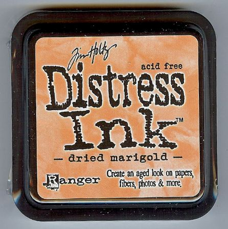 Tim Holtz Distress Ink Pad from Ranger - Dried Marigold